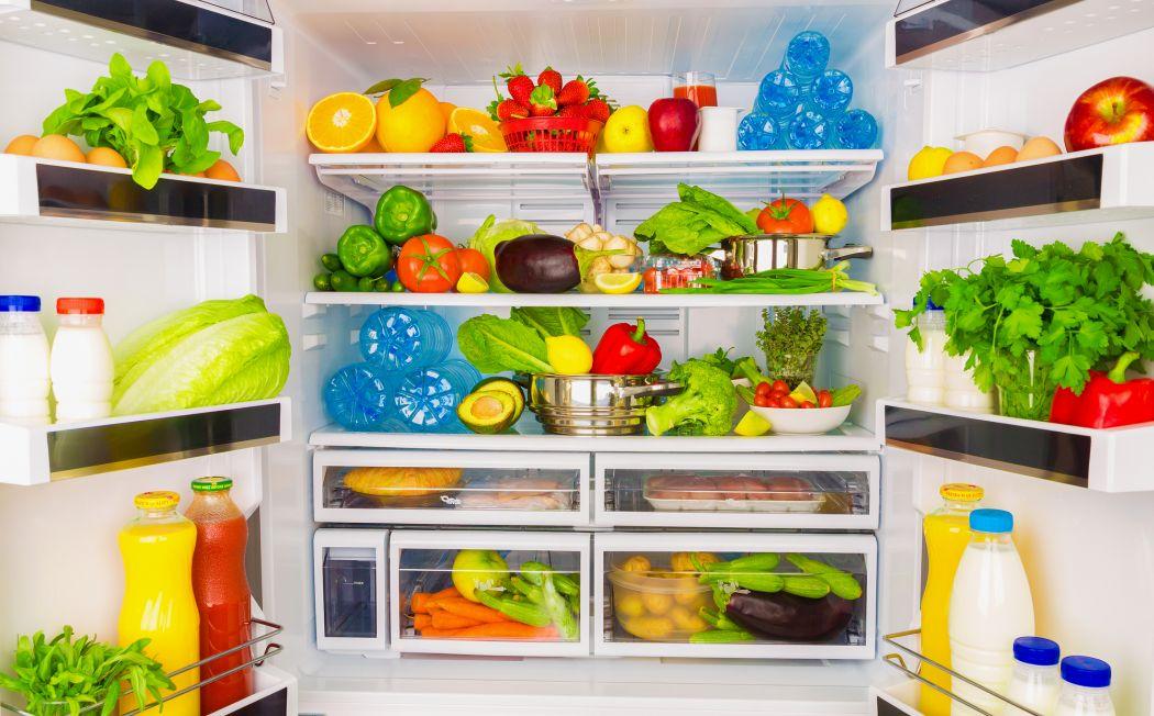 Przechowywanie produktów w lodówce